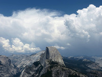 Half Dome, 4th of July